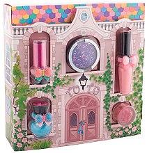 """Parfüm, Parfüméria, kozmetikum Sminkkészlet """"Varázslatos kastély"""" - Tutu Cottage set (balm/4ml+gloss/lip/7ml+polish/5ml+eye/cheek/shadow/4,5ml+eye/lip/cheek/shadow/4,5ml) (04-Turquoise Pointe)"""