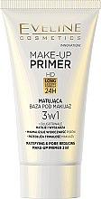 Parfüm, Parfüméria, kozmetikum Mattító primer - Eveline Cosmetics Make-up Primer 3v1