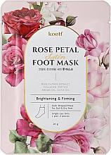 Parfüm, Parfüméria, kozmetikum Erősítő maszk-zokni lábra - Petitfee&Koelf Rose Petal Satin Foot Mask