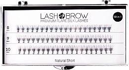 Parfüm, Parfüméria, kozmetikum Műszempilla - Lash Brown Premium Flare Silk Lashes Natural Short