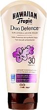 Parfüm, Parfüméria, kozmetikum Napvédő lotion - Hawaiian Tropic Duo Defence Sun Lotion SPF30