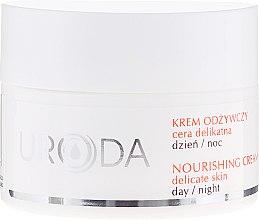 Parfüm, Parfüméria, kozmetikum Tápláló arckrém érzékeny bőrre - Uroda Nourishing Face Cream For Sensitive Skin