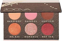 Parfüm, Parfüméria, kozmetikum Szemhéjfesték paletta - Zoeva Soft Sun Voyager Eyeshadow Palette