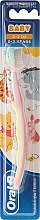 """Parfüm, Parfüméria, kozmetikum Fogkefe, lágy, """"Winnie Pooh"""", rózsaszín-sárga - Oral-B Baby"""