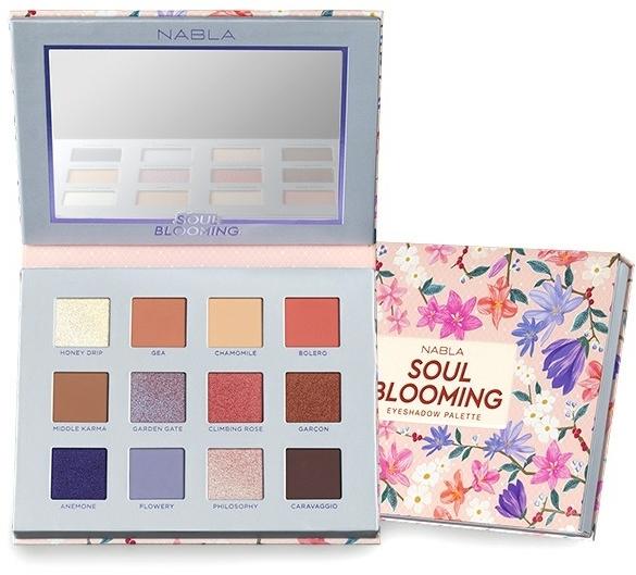 Szemhéjfesték paletta - Nabla Soul Blooming Eyeshadow Palette