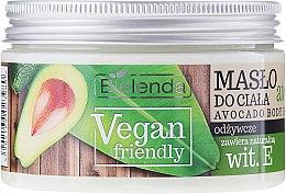 "Parfüm, Parfüméria, kozmetikum ""Avokádó"" testápoló olaj - Bielenda Vegan Friendly Avocado Body Butter"