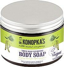 Parfüm, Parfüméria, kozmetikum Mélytisztító sűrű szappan testre - Dr. Konopka's Deep Cleansing Thick Body Soap