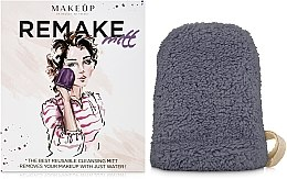 """Parfüm, Parfüméria, kozmetikum Sminkeltávolító kesztyű """"ReMake"""", szürke - MakeUp"""
