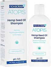 Parfüm, Parfüméria, kozmetikum Sampon organikus kenderolajjal - Novaclear Atopis Hemp Seed Oil Shampoo