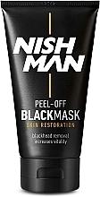 Parfüm, Parfüméria, kozmetikum Fekete arcmaszk - Nishman Peel-Off Black Mask