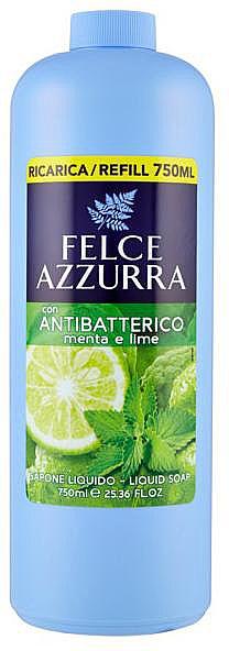 Folyékony szappan - Felce Azzurra Antibacterial Mint & Lime (utántöltő)