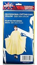 Parfüm, Parfüméria, kozmetikum Fodrász köpeny, sárga - Ronney Professional Cutting Cape