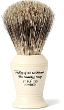 Parfüm, Parfüméria, kozmetikum Borotvapamacs, P375 - Taylor of Old Bond Street Shaving Brush Pure Badger size M