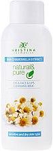 """Parfüm, Parfüméria, kozmetikum Arctisztító tej száraz és érzékeny bőrre """"Kamilla"""" - Hristina Cosmetics Cleansing Milk With Chamomilla Extract"""