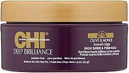 Parfüm, Parfüméria, kozmetikum Simító krém hajformázáshoz - CHI Deep Brilliance Olive & Monoi Smooth Edge High Shine & Firm Hold