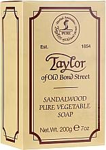 """Parfüm, Parfüméria, kozmetikum Szappan """"Szantál fa"""" - Taylor of Old Bond Street Sandalwood Soap"""