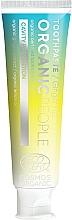 """Parfüm, Parfüméria, kozmetikum Fogkrém """"Fogszuvasodás elleni védelem"""" - Organic People Ginger Fizz Toothpaste"""