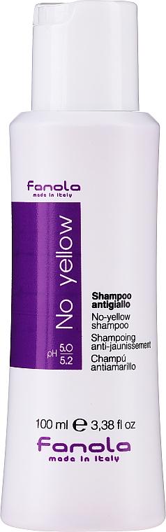 Sampon sárgás tónus neutralizálására - Fanola No-Yellow Shampoo