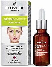 Parfüm, Parfüméria, kozmetikum Éjszakai peeling - Floslek Dermo Expert Anti Acne Peeling