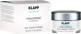 """Parfüm, Parfüméria, kozmetikum """"Hyalutonic"""" krém, nappali és éjszakai - Klapp Hyaluronic Day & Night Cream"""