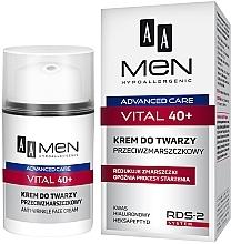 Parfüm, Parfüméria, kozmetikum Ránctalanító krém - AA Men Advanced Care Vital 40+ Face Cream Anti-Wrinkle
