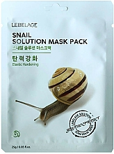 Parfüm, Parfüméria, kozmetikum Szövetmaszk - Lebelage Snail Solution Mask