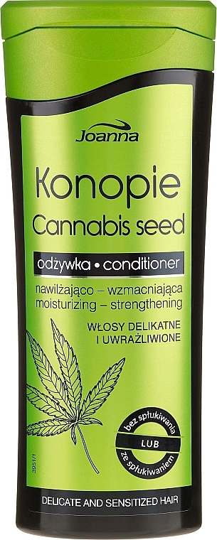 Kondicionáló kendermaggal - Joanna Cannabis Seed Moisturizing-Strengthening Conditioner