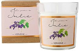 """Parfüm, Parfüméria, kozmetikum Illatgyertya """"Vasfű"""" - Ambientair Le Jardin de Julie Verveine"""