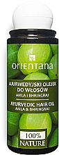 Parfüm, Parfüméria, kozmetikum Ayurvédikus hajolaj - Orientana Amla & Bhringraj Ayurvedic Hair Oil