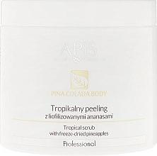 Parfüm, Parfüméria, kozmetikum Trópikus peeling liofilizált ananásszal - Apis Professional Pina Colada Body Tropical Scrub
