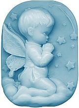"Parfüm, Parfüméria, kozmetikum Glicerin szappan ""Gyermeki tapintás"" - Bulgarian Rose Glycerin Fragrant Soap Blue Angel"