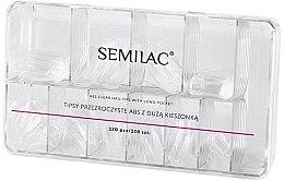 Parfüm, Parfüméria, kozmetikum Műköröm tipp - Semilac Tips Box Klar