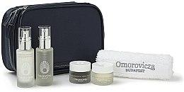 Parfüm, Parfüméria, kozmetikum Szett - Omorovicza Essentials (tonic/30ml + balm/15 ml + f/cr/15ml + f/cr/15ml + towel + bag)