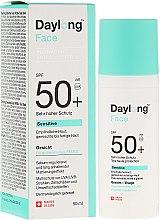 Parfüm, Parfüméria, kozmetikum Napvédő fluid érzékeny bőrre - Daylong Sensitive Facial Solar Fluid SPF50+