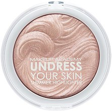 Parfüm, Parfüméria, kozmetikum Highlighter arcra - MUA Makeup Academy Shimmer Highlighter Powder