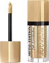 Parfüm, Parfüméria, kozmetikum Folyékony szemhéjfesték - Bourjois Metal Edition 24H Eyeshadow