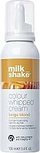 Parfüm, Parfüméria, kozmetikum Öblítést nem igénylő krém-hab haj hidratálására - Milk_Shake Colour Whipped Cream