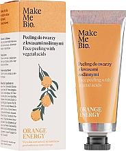 Parfüm, Parfüméria, kozmetikum Peeling növényi savakkal - Make Me Bio Orange Energy Face Peeling With Vegetal Acids