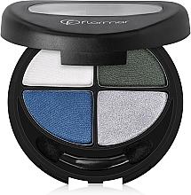 Parfüm, Parfüméria, kozmetikum Szemhéjfesték - Flormar Compact Quartet Eye Shadow