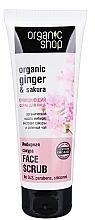 "Parfüm, Parfüméria, kozmetikum Arcradír"" Ginger Sakura"" - Organic Shop Scrub Face"