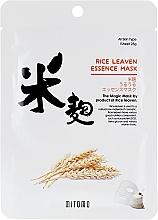 Parfüm, Parfüméria, kozmetikum Szövet arcmaszk rizskorpa kivonattal - Mitomo Rice Leaven Essence Mask