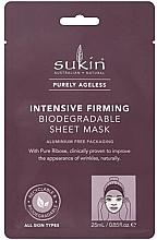 Parfüm, Parfüméria, kozmetikum Szövetmaszk - Sukin Purely Ageless Intensive Firming Biodegradable Sheet Mask