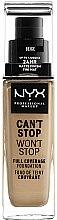 Parfüm, Parfüméria, kozmetikum Sminkalap - NYX Professional Makeup Can't Stop Won't Stop Full Coverage Foundation