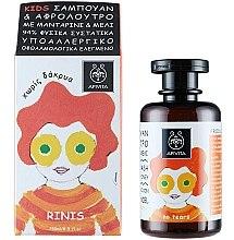 Parfüm, Parfüméria, kozmetikum Gyerek test- és hajtisztító szer mandarinnal és mézzel - Apivita Babies & Kids Natural Baby Kids Hair & Body Wash With Honey & Tangerine