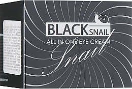 Parfüm, Parfüméria, kozmetikum Fekete csiga mucin szemkrém - FarmStay All-In-One Black Snail Eye Cream