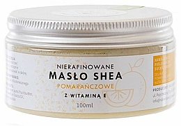 Parfüm, Parfüméria, kozmetikum Finomítatlan sheavaj E-vitaminnal - Natur Planet Orange Shea Butter Unrefined & Vitamin E