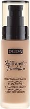 Parfüm, Parfüméria, kozmetikum Sminkalap - Pupa No Transfer Foundation