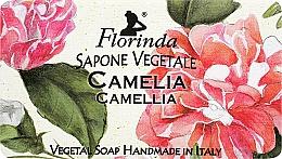 """Parfüm, Parfüméria, kozmetikum Természetes szappan """"Kamélia"""" - Florinda Sapone Vegetale Camellia"""