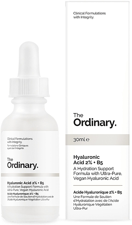 Hialuronsav szérum 2% + B5 - The Ordinary Hyaluronic Acid 2% + B5