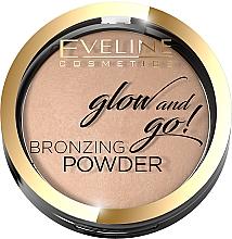 Parfüm, Parfüméria, kozmetikum Bronzosító púder - Eveline Cosmetics Glow & Go Bronzing Powder